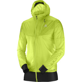 Salomon Fast Wing Hybrid Jacket Herren acid lime/black